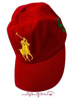 POLO Ralph Lauren Fragrances Big Pony, #2 RED Baseball Cap-