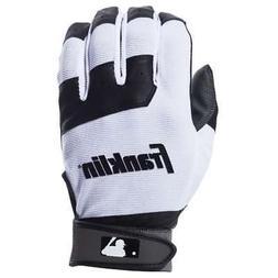 Franklin Sports MLB Baseball Batting Gloves - Youth Flex - B