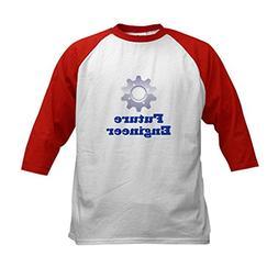CafePress - Future Engineer Kids Baseball Jersey - Kids Cot b42364d1afd4