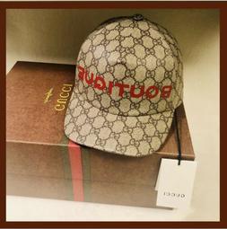Gucci GG Supreme Boutique Baseball Cap Hat