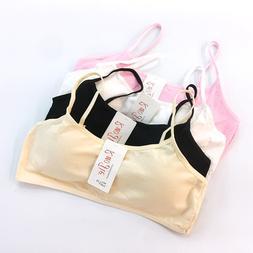 Girls Underwear Cotton Training Bras Teenage Sport Puberty C