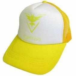 POKEMON GO Team Instinct BASEBALL CAP ~ Birthday Party Suppl