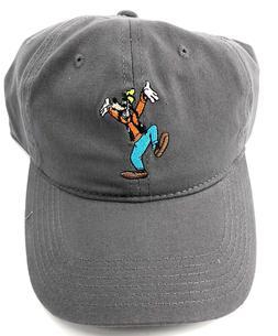 Disney Goofy Cartoon Grey Adult Baseball Hat Cap Adjustable 8462608a0a5