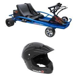 Razor Ground Force Drifter Kart and Razor Full Face Youth He