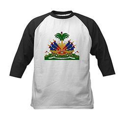 CafePress - Haiti Coat of Arms  Kids Baseball Jersey - Kids