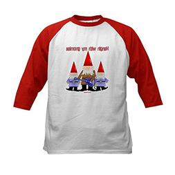 CafePress - Hanging With My Gnomies Kids Baseball Jersey - K