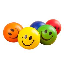 GOGO Happy Smiley Stress Relief Ball, Cheap Squeeze Balls Pa