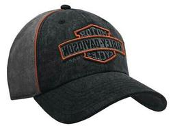 Harley-Davidson Men's Nostalgic Bar & Shield Baseball Cap BC