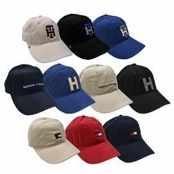 Tommy Hilfiger Hat Baseball Cap Logo Unisex Mens Womens Adju