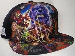 Hat Cap Licensed Marvel Comics Avengers Infinity War Thanos