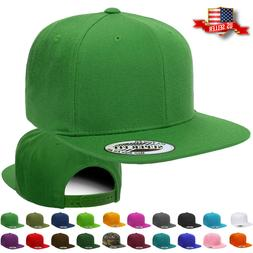 Snapback Hat Classic Hip Hop Style Flat Brim Baseball Cap So