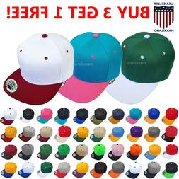 Snapback Hat Hip-Hop Baseball Cap for Men One Size Adjustabl