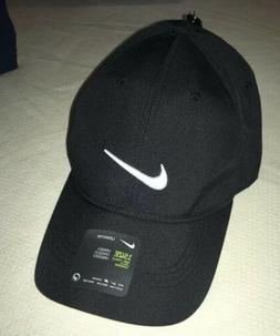 Nike Golf Hat Legacy91 Dri Fit Tech Logo Cap Black AQ5349 NE