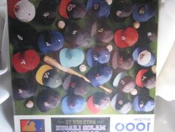 Hats Off to Major League Baseball 1000 Piece Puzzle