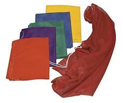 Sportime Heavy-Duty Mesh Storage Bags - 12 x 18 - Set of 6 -