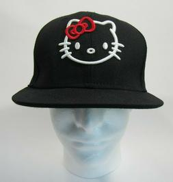 hello kitty embroidered true fitted unisex baseball