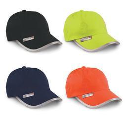 HI VIS HI VIZ HIGH VISIBILITY PRINTED BASEBALL CAP - ANY TEX