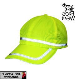 397a77298 HI-VIS LIME REFLECTIVE HAT/BASEBALL CAP ...