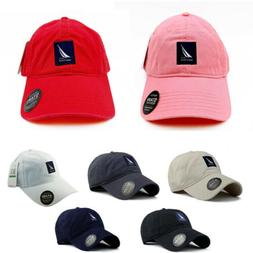 Hot Nautica Hat Men's Unisex 100% Cotton Sport Baseball Cap