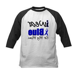 CafePress - I Wear Blue For My Mom Kids Baseball Jersey - Ki