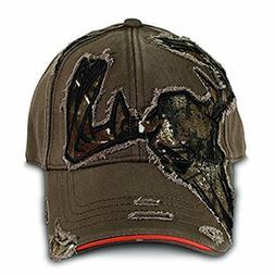 Buck Wear Inc. Skull Cut Away Baseball Cap, One Size