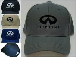 Infiniti Embroidered Baseball Hat Cap Adjustable Strap Q60 Q