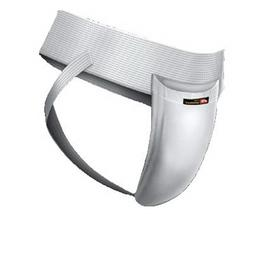 WSI Men's Joc Strap with Cup, White, Large