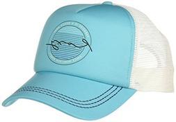 Roxy Junior's Truckin Trucker Hat, Scuba Blue, One Size