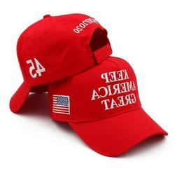 Keep America Great 45 Baseball Cap Hat President Trump 2020