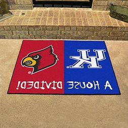 Kentucky Wildcats / Louisville Cardinals House Divided NCAA