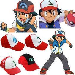 Pokemon Go Baseball Cap Ash Ketchum Cosplay Accessories Summ
