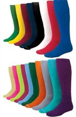 Kids Small For Youth Solid Color Baseball Socks Sock Size 6-