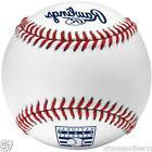 1/2 DOZEN RAWLINGS OFFICIAL BASEBALL HALL OF FAME HOF MLB BA