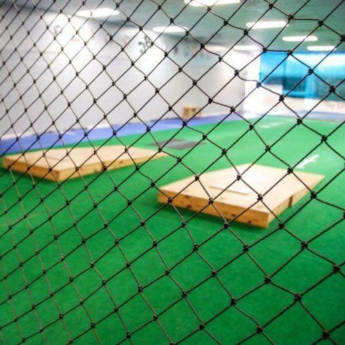 10' x 20' Black Heavy Duty Fully Edged Baseball Net Batting