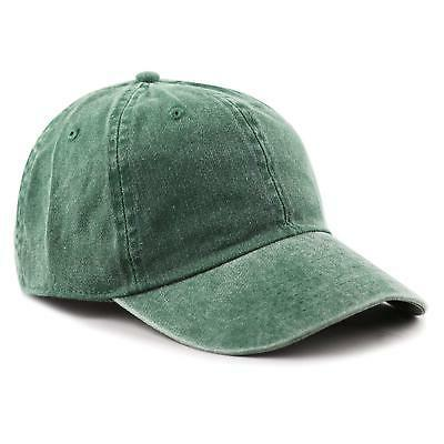 THE HAT DEPOT 100% Cotton Pigment Dyed Low Profile Six Panel