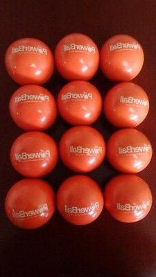12 QUANTITY POWERBALLS 350 GRAM WEIGHTED STRENGTH AND TRAINI