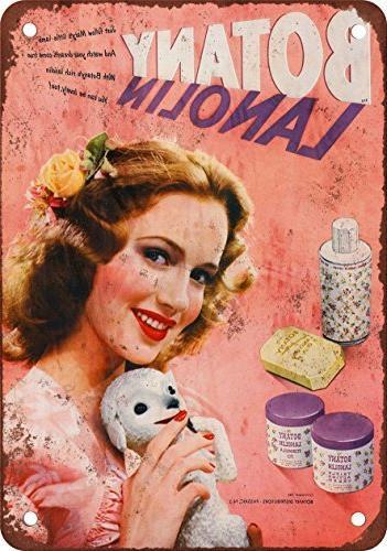 1949 botany lanolin vintage look