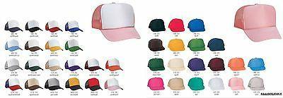 1 Dozen Trucker Baseball Cap Mesh Retro Cap Hat 39 Color Cho