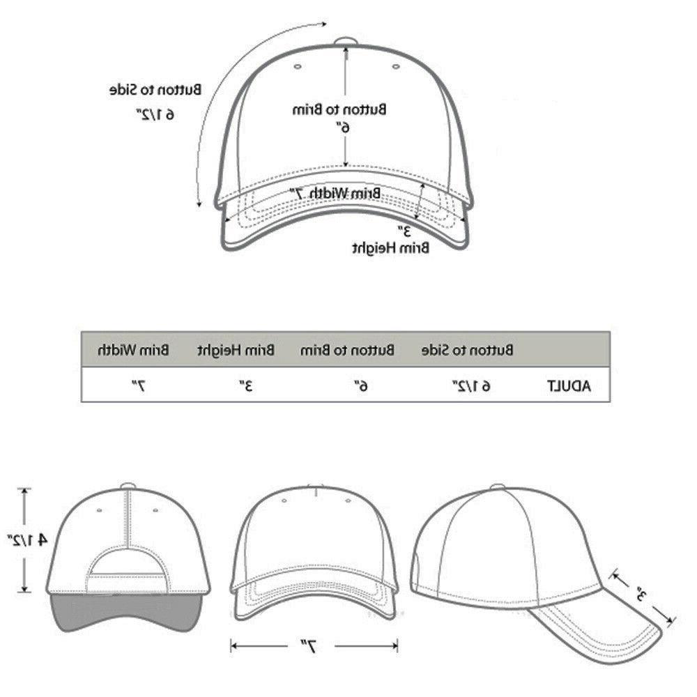 2-pack Plain Baseball Cap