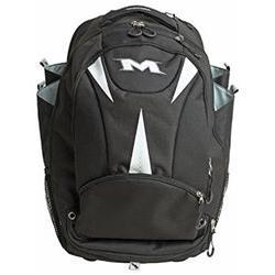 2016 Miken Freak XL Wheeled Backpack Black / White Bat Pack