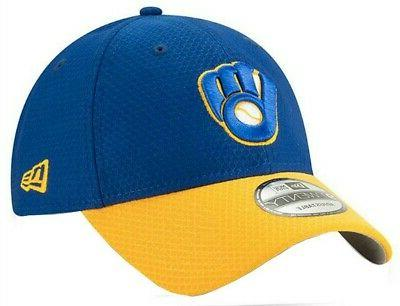 New MLB Milwaukee Brewers Hat Bat