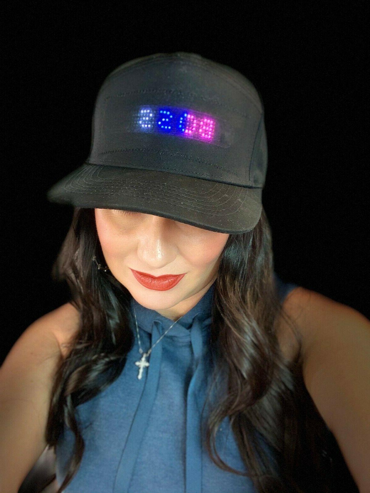 Animated LED Bluetooth Cap