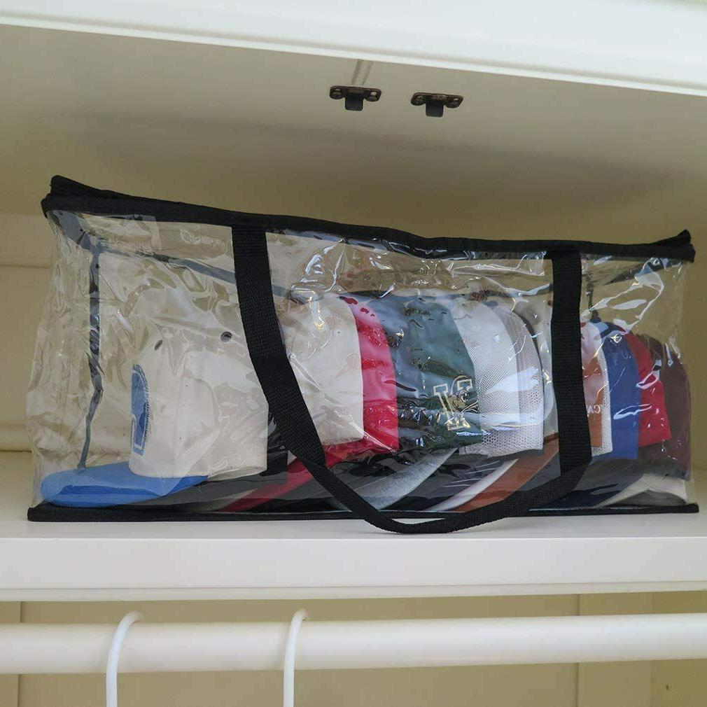 4 Storage Bag Zipper Rack