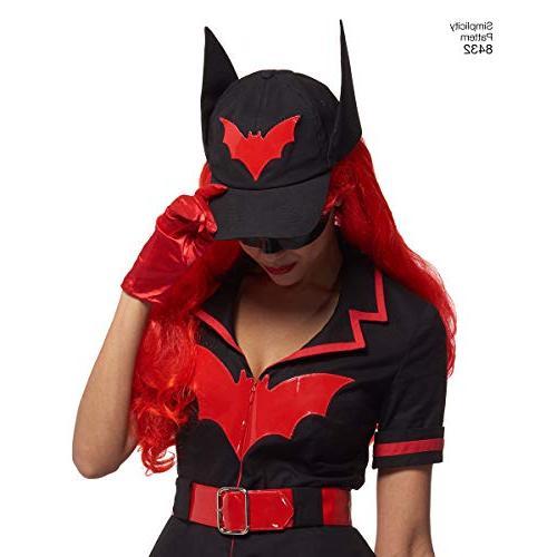 Simplicity Pattern Batwoman Costume Pattern, Size