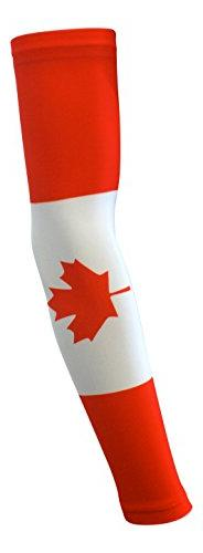 NEW! Sports Farm - Canada Flag Compression Arm Sleeve