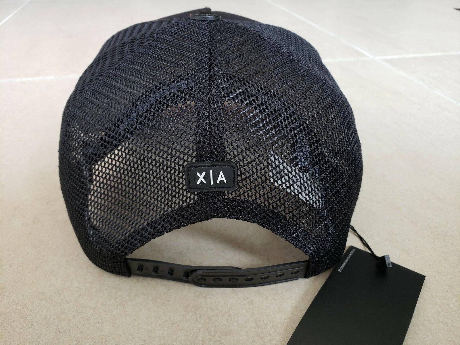 Armani A|X Black Baseball Cap/Hat