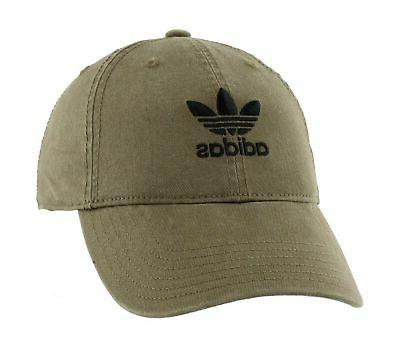 adidas Women's Originals Relaxed Fit Strapback Cap, Olive Ca