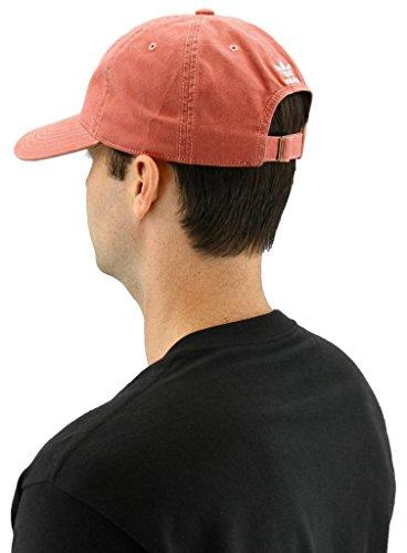adidas Originals Relaxed Strapback Trace Scarlet/White, One