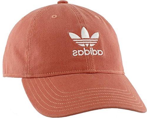 Strapback Cap, Scarlet/White, One