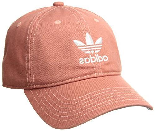 adidas men s originals relaxed strapback cap